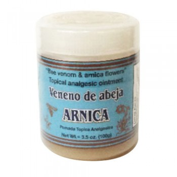 Bee venom and Arnica Flower  - Topical Analgesic Ointment 3.5Oz (100g)
