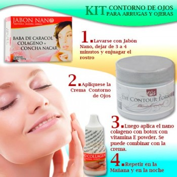 Eye Contour Kit for Wrinkles and Dark Circles