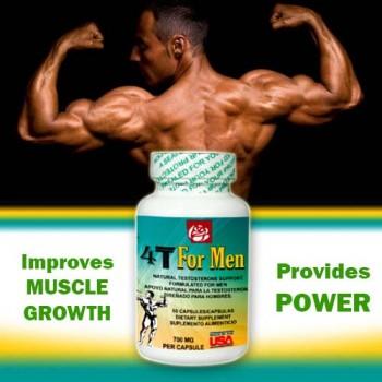 4T For Men 700 mg 60 Caps