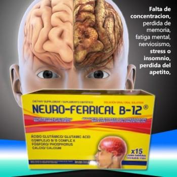 Neuroferrical B12 - 15 vials