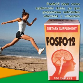 Fosfo12 100 Tablets - Dietary Supplement