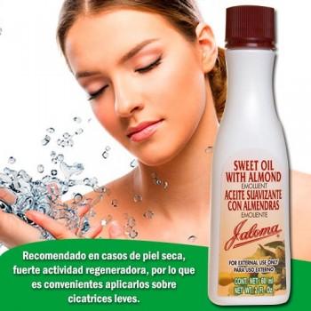 Jaloma Sweet Oil With Almond Emollient 4 FL Oz (120ml)