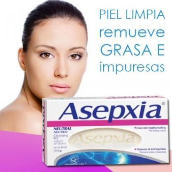 Asepxia Neutral Cleansing Soap 4 oz