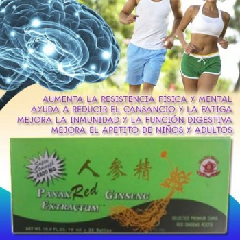 Red Panax Ginseng Extract 10ml X 30 Bottles