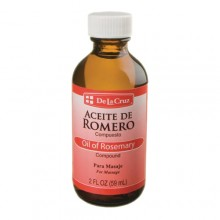 De la cruz Oil of Rosemary 2 FL OZ (59 ml)