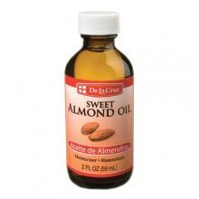 De la Cruz Sweet Almond Oil 2 FL OZ (59 ml)