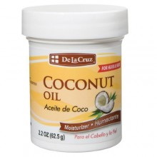 De La Cruz Coconut Oil 2.2 Oz (62.5 g)
