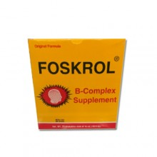 Foskrol Vitamins for Brain and Nerves 20 Ampoules 0f 15ml
