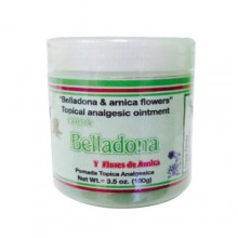 Belladona and Arnica Flower - Topical Analgesic Ointment 3.5Oz (100g)