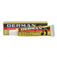 Derman Antifungal Cream for the Treatment of Athlete's Foot 0.88 0z (25g)