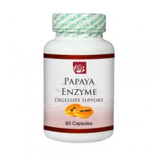 Product  Natural Papaya Enzime 60 Capsules