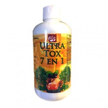 Ultra Tox 7 en 1 Honey Syrup Dietary Supplement 13.5 Oz