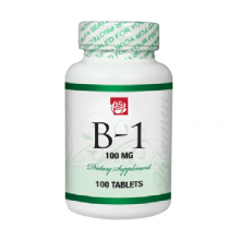 Vitamin B1 100 mg 100 Tablets