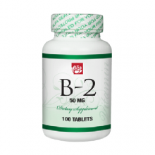 Vitamin B2 50 mg 100 Tablets