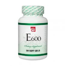 Vitamin E 600 mg 50 Soft Gels
